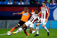 Onderwerp/Subject: Willem II - FC Volendam - Jupiler League<br /> Reklame:  <br /> Club/Team/Country: <br /> Seizoen/Season: 2013/2014<br /> FOTO/PHOTO: Terell ONDAAN (R) of Willem II in duel with Ludcinio MARENGO (L) of FC Volendam. (Photo by PICS UNITED)<br /> <br /> Trefwoorden/Keywords: <br /> #04 $94 &plusmn;1372506528100<br /> Photo- &amp; Copyrights &copy; PICS UNITED <br /> P.O. Box 7164 - 5605 BE  EINDHOVEN (THE NETHERLANDS) <br /> Phone +31 (0)40 296 28 00 <br /> Fax +31 (0) 40 248 47 43 <br /> http://www.pics-united.com <br /> e-mail : sales@pics-united.com (If you would like to raise any issues regarding any aspects of products / service of PICS UNITED) or <br /> e-mail : sales@pics-united.com   <br /> <br /> ATTENTIE: <br /> Publicatie ook bij aanbieding door derden is slechts toegestaan na verkregen toestemming van Pics United. <br /> VOLLEDIGE NAAMSVERMELDING IS VERPLICHT! (&copy; PICS UNITED/Naam Fotograaf, zie veld 4 van de bestandsinfo 'credits') <br /> ATTENTION:  <br /> &copy; Pics United. Reproduction/publication of this photo by any parties is only permitted after authorisation is sought and obtained from  PICS UNITED- THE NETHERLANDS