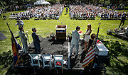 SHOT 6/2/16 9:27:13 AM - Colorado Academy Class of 2016 Commencement ceremonies at the Denver, Co. private school. The school graduated 88 seniors this year and the event capped a week filled with awards, tributes, and celebrations for the outgoing senior class. (Photo by Marc Piscotty / © 2016)