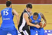 DESCRIZIONE : Ancona Beko All Star Game 2013-14 Beko All Star Team Italia Nazionale Maschile <br /> GIOCATORE : Simone Fontecchio CATEGORIA : passaggio equilibrio SQUADRA : All Star Team Italia Nazionale Maschile <br /> EVENTO : All Star Game 2013-14 GARA : Italia All Star Team <br /> DATA : 13/04/2014 <br /> SPORT : Pallacanestro <br /> AUTORE : Agenzia Ciamillo-Castoria/I.Mancini<br /> Galleria : FIP Nazionali 2014 <br /> Fotonotizia : Ancona Beko All Star Game 2013-14 Beko All Star Team Italia Nazionale Maschile Predefinita :