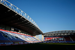 A general view inside the DW stadium - Photo mandatory by-line: Rogan Thomson/JMP - 07966 386802 - 22/09/2014 - SPORT - FOOTBALL - Wigan, England - DW Stadium - Wigan Athletic v Ipswich Town - Sky Bet Championship.