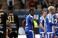 17.6.2015, Sonera stadion, Helsinki.<br /> Veikkausliiga 2015.<br /> Helsingin Jalkapalloklubi - Seinäjoen Jalkapallokerho.<br /> Gideon Baah - HJK