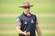 Somerset director of cricket Matthew Maynard during the Specsavers County Champ Div 1 match between Somerset County Cricket Club and Nottinghamshire County Cricket Club at the Cooper Associates County Ground, Taunton, United Kingdom on 21 September 2016. Photo by Graham Hunt.