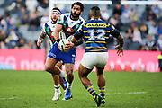 Adam Blair in possession. Parramatta Eels v Vodafone Warriors. NRL Rugby League. Bankwest Stadium, Sydney, Australia. 27th July 2019. Copyright Photo: David Neilson / www.photosport.nz