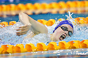 Picture by Alex Whitehead/SWpix.com - 18/07/2015 - Swimming - 2015 IPC Swimming World Championships - Tollcross Swimming Centre, Glasgow, Scotland - Great Britain's Tully Kearney wins Gold in the Women's 400m Freestyle S9 Final.