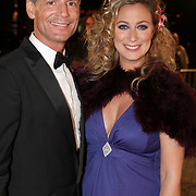 NLD/Amsterdam/20080929 - Pink Ribbon gala 2008, Fabienne de Vries en Theo Hopman