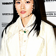 Sinyu Siu is a Fashion loving blogger, fashionista attend the Fashion Scout - SS19 - London Fashion Week - Day 1, London, UK. 14 September 2018.