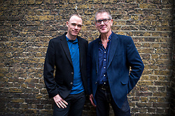 © London News Pictures. 29/10/2015. Two time winner of the Tour de France, CHRIS FROOME,  pictured with Bob Munro. Photo credit: Ben Cawthra/LNP