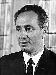 SHIMON PERES (2 August 1923 - 28 September 2016) was a Polish-born Israeli statesman. Born Szymon Perski, he was the ninth President of Israel from 2007 to 2014, served twice as the Prime Minister of Israel and twice as Interim Prime Minister, and he was a member of 12 cabinets in a political career spanning over 66 years. Peres won the 1994 Nobel Peace Prize together with Yitzhak Rabin and Yasser Arafat for the peace talks that he participated in as Israeli Foreign Minister, producing the Oslo Accords. PICTURED: A young SHIMON PERES (Credit Image: © Keystone Press Agency/Keystone USA via ZUMAPRESS.com)