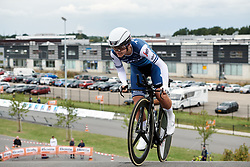 Elisa Longo Borghini (ITA) at Boels Ladies Tour 2019 - Prologue, a 3.8 km individual time trial at Tom Dumoulin Bike Park, Sittard - Geleen, Netherlands on September 3, 2019. Photo by Sean Robinson/velofocus.com