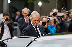© Licensed to London News Pictures. 07/07/2015. London, UK. Former Brits prime minister TONY BLAIR. A church service held at St Paul's Cathedral In London on the 10th anniversary of the 7/7 bombings in London which killed 52 civilians and injured over 700 more.  Photo credit: Ben Cawthra/LNP