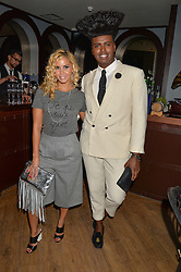SHANIE RYAN and PRINCE CASSIUS at a party to celebrate the launch of the new club Charlie, 15 Berkeley Street, London on 9th September 2015.