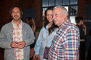 MARC NEWSON; CHARLOTTE STOCKDALE; DAVID BAILEY, David Bailey's East End, Compressor House, Dockside Road, Royal Docks, Newham, 4 July 2012.