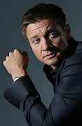 JEREMY RENNER for the  Australian tour to promote his movie THE BOURNE LEGACY.