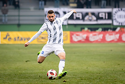 Nino Kouter of NŠ Mura during football match between NŠ Mura and NK Celje in 18th Round of Prva liga Telekom Slovenije 2018/19, on December 2, 2018 in Fazanerija, Murska Sobota, Slovenia. Photo by Blaž Weindorfer / Sportida