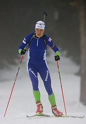 Teja Gregorin at training session of Slovenian biathlon team before new season 2009/2010,  on November 16, 2009, in Pokljuka, Slovenia.   (Photo by Vid Ponikvar / Sportida)
