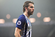 West Bromwich Albion striker Jay Rodriguez (19) during the Premier League match between West Bromwich Albion and Southampton at The Hawthorns, West Bromwich, England on 3 February 2018. Picture by Dennis Goodwin.