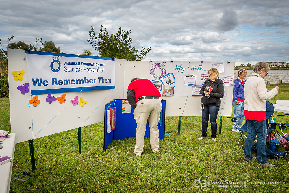AFSP Mid-Shore Out of the Darkness Community Walk, 9/30/17. Chester, MD.<br /> <br /> Maryland Event Photography by Mario Gozum.