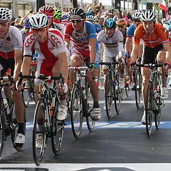 UCI Road Race WC Firenze Elite men Bauke Mollema en Rui Costa