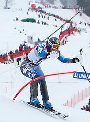 22.01.2012, Ganslernhang, Kitzbuehel, AUT, FIS Weltcup Ski Alpin, 72. Hahnenkammrennen, Herren, Slalom 1. Durchgang, im Bild Nolan Kasper (USA) // Nolan Kasper of USA during Slalom race 1st run of 72th Hahnenkammrace of FIS Ski Alpine World Cup at 'Ganslernhang' course in Kitzbuhel, Austria on 2012/01/22. EXPA Pictures © 2012, PhotoCredit: EXPA/ Johann Groder
