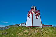 Lighthouse. Northern Peninsula. <br />St. Anthony<br />Newfoundland & Labrador<br />Canada