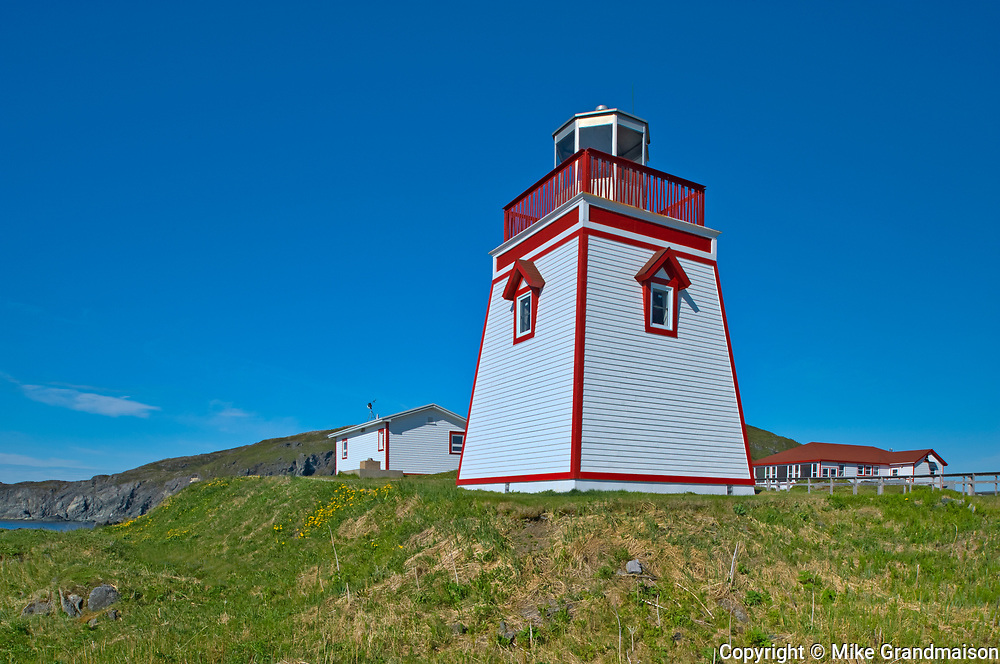 Lighthouse. Northern Peninsula. <br />