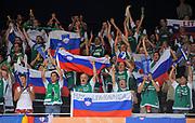 DESCRIZIONE : Vilnius Lithuania Lituania Eurobasket Men 2011 Second Round Slovenia Grecia Slovenia Greece<br /> GIOCATORE : Tifosi Supporters Fans Slovenia<br /> SQUADRA : Slovenia<br /> EVENTO : Eurobasket Men 2011<br /> GARA : Slovenia Grecia Slovenia Greece<br /> DATA : 08/09/2011 <br /> CATEGORIA : tifosi<br /> SPORT : Pallacanestro <br /> AUTORE : Agenzia Ciamillo-Castoria/T.Wiendesohler<br /> Galleria : Eurobasket Men 2011 <br /> Fotonotizia : Vilnius Lithuania Lituania Eurobasket Men 2011 Second Round Slovenia Grecia Slovenia Greece<br /> Predefinita :