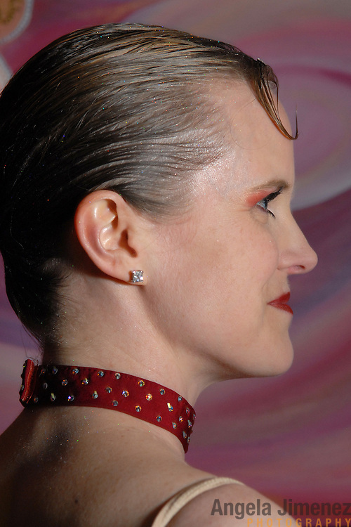 Same-sex ballroom dancer Citabria Phillips, of Oakland, California, poses for a photo during the USADSF (United States Alternative Dancesport Federation) Same-Sex Ballroom Championships at Dance Orlando in Orlando, Florida on June 2, 2007...Nine male and female couples from around the country competed in the event, which was the 3rd annual United States championship contested in this sport: the first two championships were held in Sacramento, California in 2005 and 2006. This was the first same-sex ballroom competition ever held in Florida. ..Same-sex ballroom dancing is a new sport which is growing and developing in the United States, but it has a longer history in Europe, where events have been held for over two decades.  ..