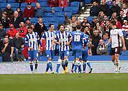Brighton and Hove Albion v Rotherham Utd 25/10/2014