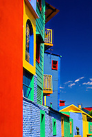 Colorful buildings of Caminito in La Boca, Buenos Aires, Argentina