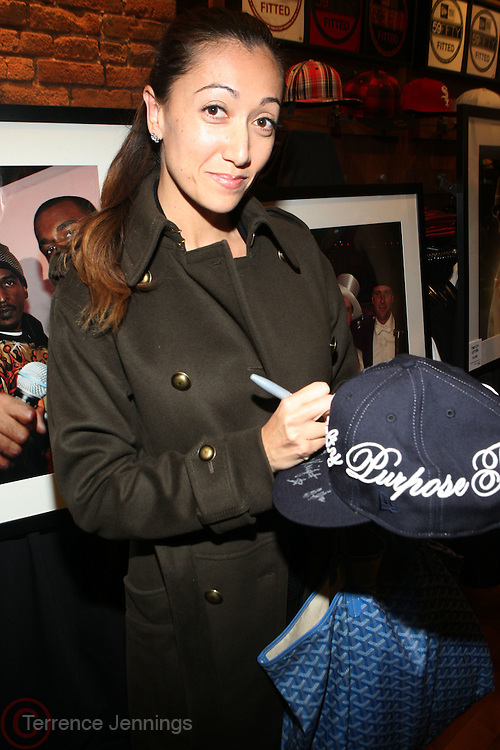 1 December 2010-New York, NY-  Jennifer Yu at The New Era Launch of his Limited Edition 59Fitfty Cap and Launch of his Eye Can Foundation held at The New Era Flagship Store on December 1, 2010 in New York City.  Photo Credit: Terrence Jennings