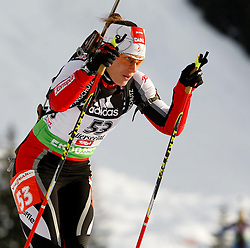 16.12.2011, Biathlonzentrum, Hochfilzen, AUT, E.ON IBU Weltcup, 3. Biathlon, Hochfilzen, Sprint Frauen, im Bild Iris Waldhuber (AUT) // during Sprint women E.ON IBU World Cup 3th Biathlon, Hochfilzen, Austria on 2011/12/16. EXPA Pictures © 2011, PhotoCredit: EXPA/ Oskar Hoeher