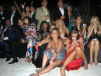Quincy Jones, Naomi Campbell.Grisogno Party.Hotel Du Cap - 2007 Cannes Film Festival .Cap D'Antibes, France .Tuesday, May 22, 2007.Photo By Celebrityvibe; .To license this image please call (212) 410 5354 ; or.Email: celebrityvibe@gmail.com ;