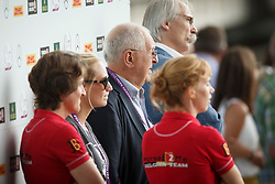 Buchmann Jacky, (BEL), Rydant Hymne, (BEL), Laeremans Wendy, (BEL)<br /> Team completion and 2nd individual qualifier<br /> FEI European Championships - Aachen 2015<br /> &copy; Hippo Foto - Dirk Caremans<br /> 20/08/15