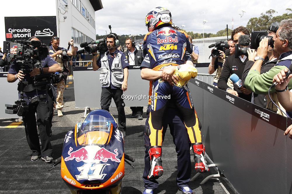 06.05.2012. Estoril, Portugal. Moto Grand Prix of Estoril.   Picture shows  Sandro Cortese Red Bull KTM Ajo