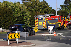 Pukekohe-Fire appliance and car collide
