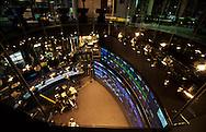 New York. Nasdaq office, lighting and ads at night in Times square  New York  Usa /  Nasdaq building  et illuminations et publicités lumineuses la nuit a Times square  New York  Usa