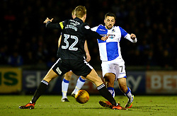 Liam Sercombe of Bristol Rovers is closed down by Mark Kitching of Rochdale - Mandatory by-line: Dougie Allward/JMP - 13/02/2018 - FOOTBALL - Memorial Stadium - Bristol, England - Bristol Rovers v Rochdale - Sky Bet League One