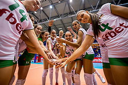 22-08-2017 NED: World Qualifications Slovenia - Bulgaria, Rotterdam<br /> Bulgaria win 3-1 against Slovenia / team Bulgaria