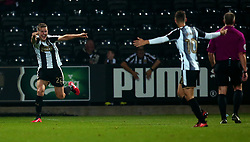 Ryan Yates of Notts County celebrates scoring a goal to make it 2-2 - Mandatory by-line: Robbie Stephenson/JMP - 03/11/2017 - FOOTBALL - Meadow Lane - Nottingham, England - Notts County v Bristol Rovers - Emirates FA Cup first round