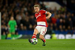 Grant Leadbitter of Middlesbrough in action - Mandatory by-line: Jason Brown/JMP - 08/05/17 - FOOTBALL - Stamford Bridge - London, England - Chelsea v Middlesbrough - Premier League
