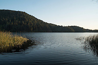 Cascade Lake at Sunset / Moran State Park, Orcas Island, Washington