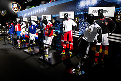 Teams jerseys at Adidas central for FIFA World Cup 2010 on June 30, 2010 at Nelson Mandela Square in Sandton Convention Centre in Johannesburg. (Photo by Vid Ponikvar / Sportida)