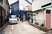 exterior of a residential house Japan