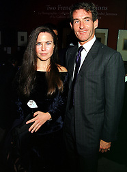 MISS KOO STARK a former close friend of HRH The Duke of York and her former husband MR TIM JEFFERIES a close friend of model Claudia Schiffer, at a dinner in London on 26th October 1999.MYE 85
