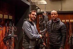 Visser Tommie, Van Puijenbroek Rob, NED<br /> Stud Farm de Begijnhoeve - Retie 2018<br /> © Hippo Foto - Dirk Caremans<br /> 03/01/2018