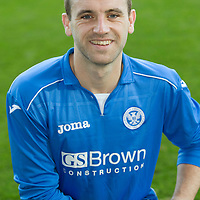 St Johnstone FC..Season 2014-15<br /> James McFadden<br /> Picture by Graeme Hart.<br /> Copyright Perthshire Picture Agency<br /> Tel: 01738 623350  Mobile: 07990 594431