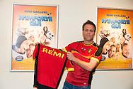 """©www.agencepeps.be - 140303 - F.Andrieu -  Remi Gaillard était présent pour la première fois en Belgique lors de l'avant première de son film """"N'importe qui"""""""