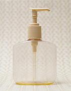 empty liquid hand soap dispenser