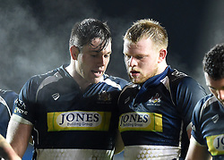 Glen Townson and Joe Joyce of Bristol Rugby - Mandatory by-line: Paul Knight/JMP - Mobile: 07966 386802 - 11/12/2015 -  RUGBY - Ashton Gate Stadium - Bristol, England -  Bristol Rugby v Bedford Blues - British and Irish Cup