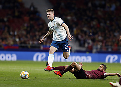 March 22, 2019 - Madrid, Madrid, Spain - Argentina's Juan Foyth seen in action during the International Friendly match between Argentina and Venezuela at the wanda metropolitano stadium in Madrid. (Credit Image: © Manu Reino/SOPA Images via ZUMA Wire)